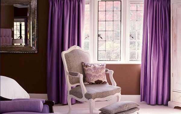 Cách chọn rèm hợp với tông màu tường