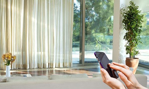 Tận hưởng cuộc sống một cách trọn vẹn với rèm cửa thông minh