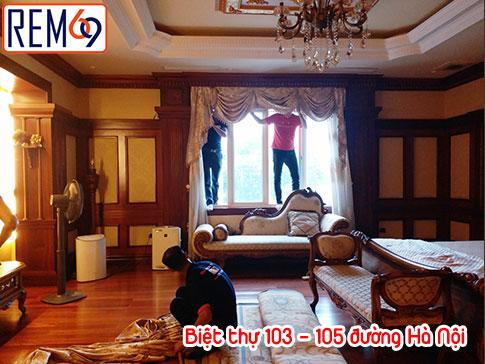 Biệt thự 103 – 105 Đường Hà Nội, Sở Dầu