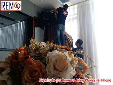 Biệt thự lô góc Bwon Lê Hồng Phong Hải Phòng