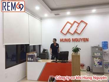 Rèm văn phòng công ty Hùng Nguyên