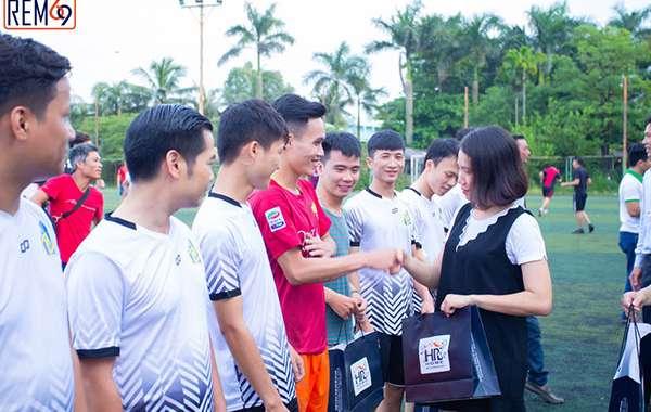 Hệ thống rèm phong thủy Việt Nam đồng hành cùng giải bóng đá ngành xây dựng Hải Phòng