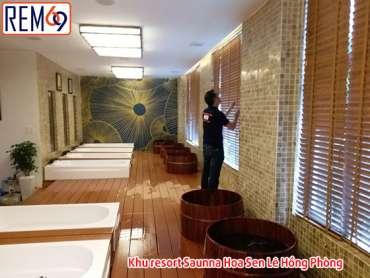 Khu resort Saunna Hoa Sen Lê Hồng Phong