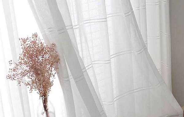 Công dụng của rèm voan trong trang trí