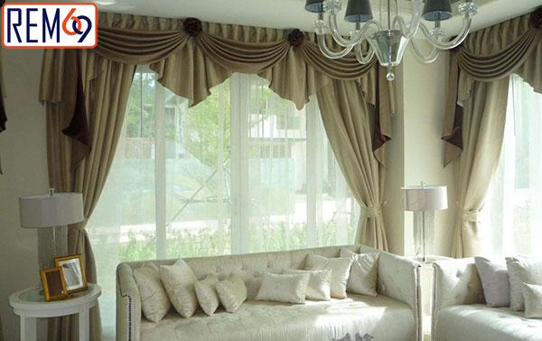 Lắp rèm cửa biệt thự tại Dương Kinh Hải Phòng