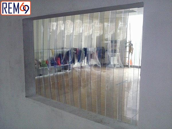 Lắp rèm nhựa tại Hải Phòng