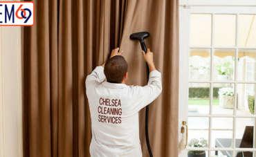 Hướng dẫn cách giặt rèm vải hiệu quả