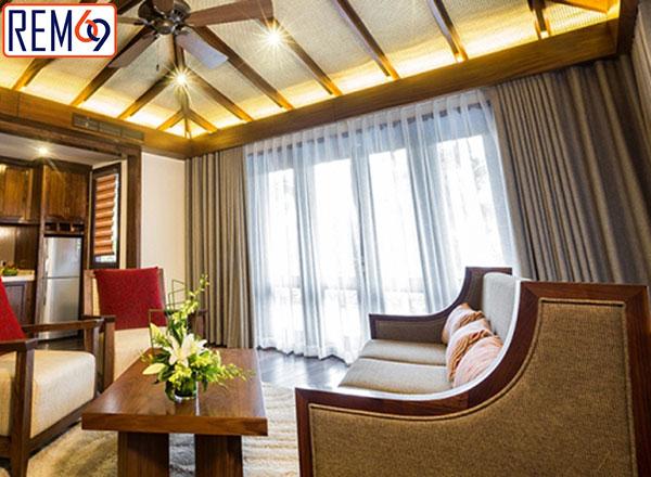 rèm sảnh khách sạn cao cấp