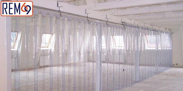 Ứng dụng của rèm nhựa PVC trong đời sống