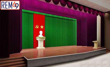 Lắp đặt rèm hội trường Hải Phòng