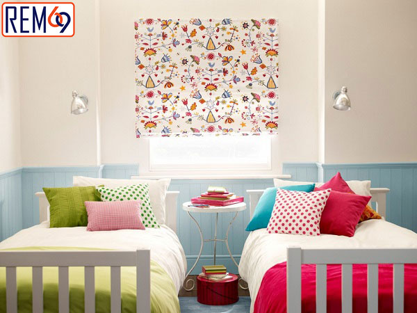 rèm phòng ngủ cho trẻ em tại hải phòng