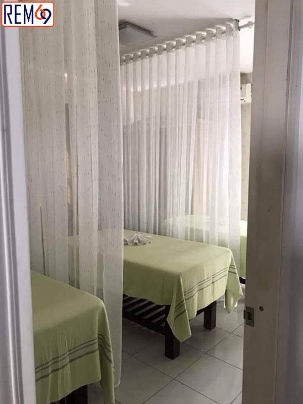 mành rèm đẹp cho spa hải phòng