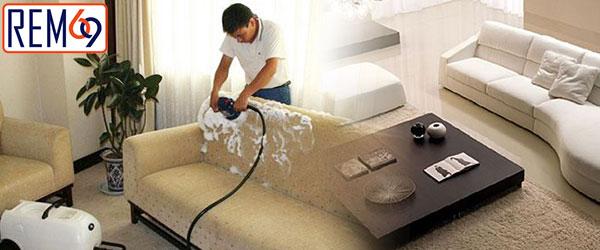 Giặt sofa ở Hải Phòng tại nhà nhanh chóng, tiện lợi