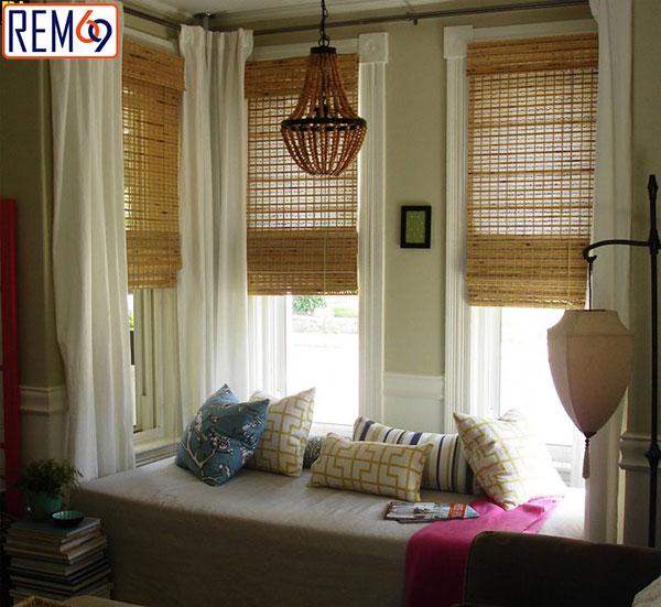 mẫu rèm tre cho cửa sổ lồi hải phòng