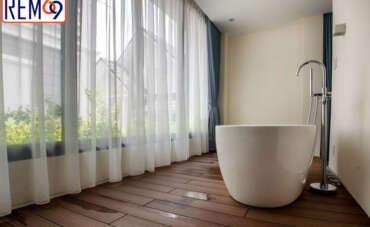 Rèm cho phòng tắm tại Hải Phòng đẹp mắt