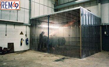 Công dụng hữu ích của rèm ngăn tia lửa hàn tại Hải Phòng