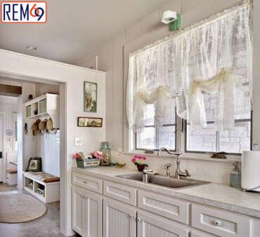Không gian đẹp hơn với rèm phòng bếp Hải Phòng